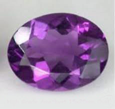 natural amethyst oval