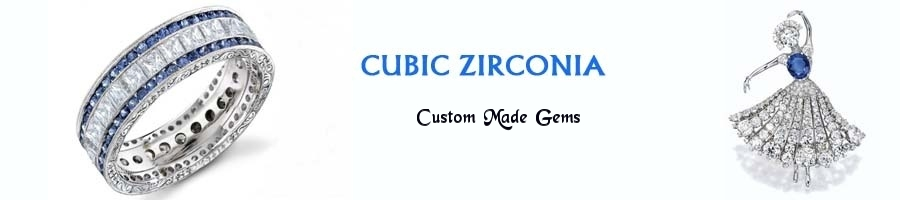 custom made cubic zirconia